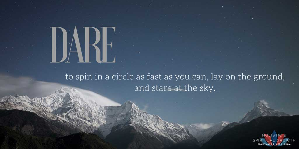 #The DailyDare - A Mindfulness Game
