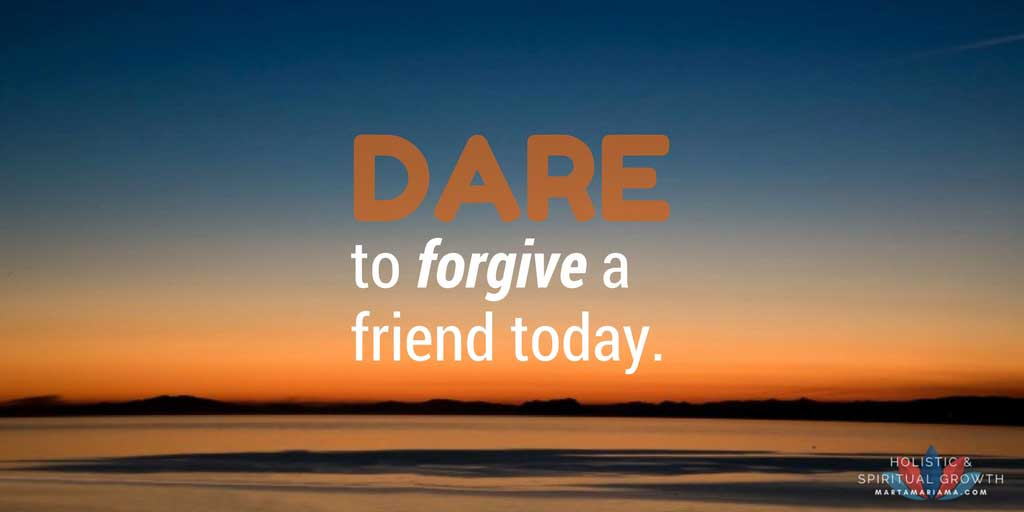 Forgive a Friend